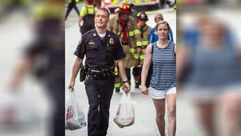New Hampshire police officer's good deed goes viral.