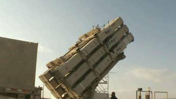 Russian-made missiles land near Israeli border; Connor Powell reports.