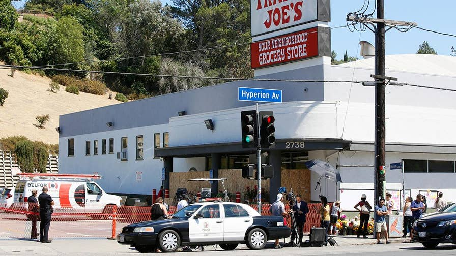 Investigators say the gunman shot his grandmother and wounded his girlfriend before taking dozens hostage inside a Los Angeles supermarket; William La Jeunesse on the timeline of events.