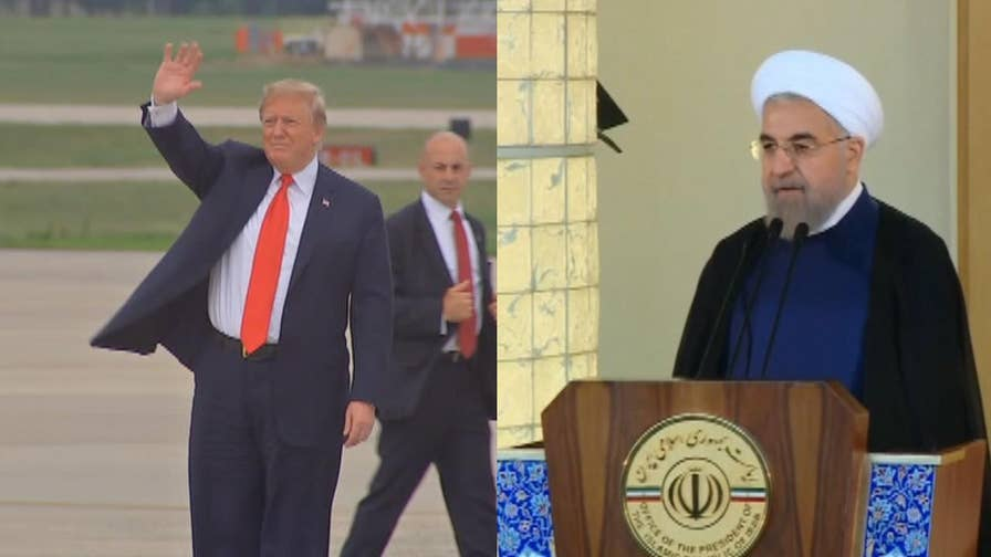 Why President Donald Trump tweeted an explosive tweet directed at Iran and why he is angry with Iran's President Hassan Rouhani