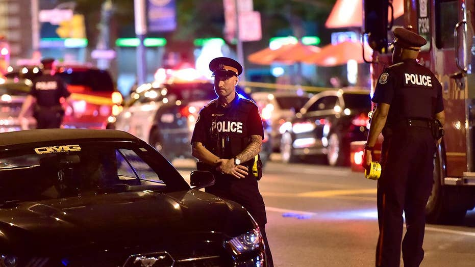 Toronto gunman dead after opening fire on Greektown district