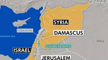 Syrian fighter jet infiltrated Israeli airspace.