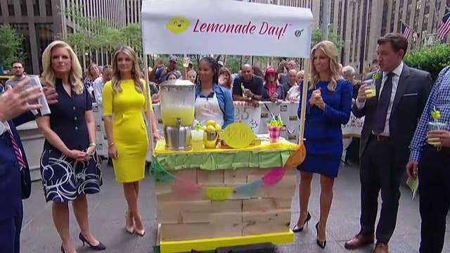 After the Show Show: Lemonade stands