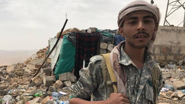 The violent fight for Yemen's capital