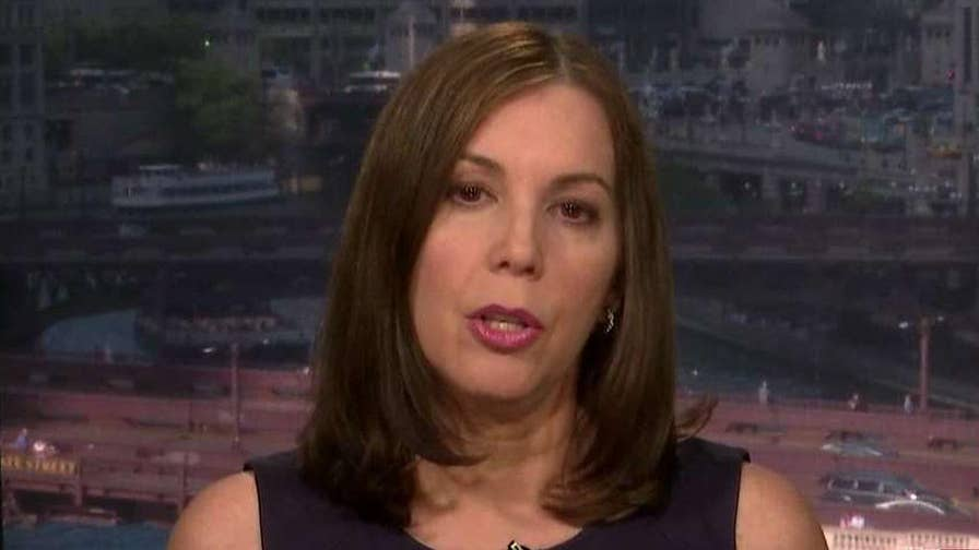Wife of former Illinois Gov. Rod Blagojevich says her husband was the victim of a political witch hunt.