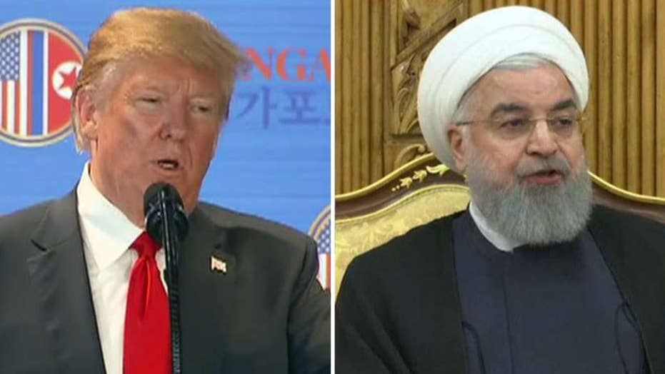 President Trump pivots 'fire and fury' rhetoric to Iran