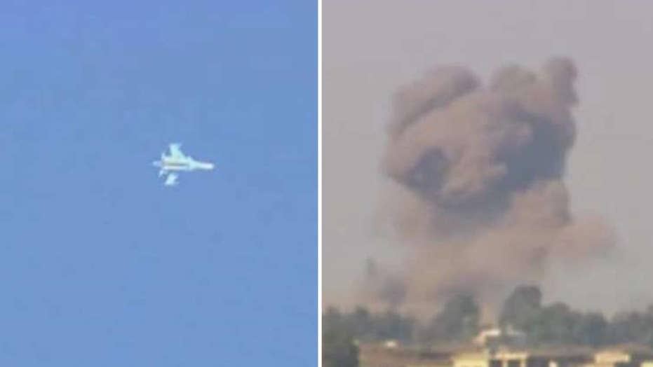 Syrian jet shot down after entering Israeli airspace