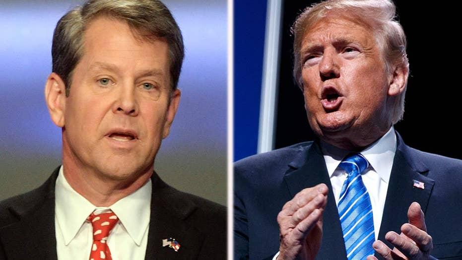 Trump endorsement shakes up gubernatorial runoff in Georgia