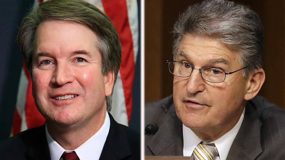 Manchin faces challenges over meeting with Kavanaugh
