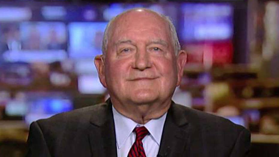 Perdue on protecting farmers from trade fight with China