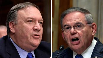Testifying before the Senate Foreign Relations Committee, Secretary of State Mike Pompeo defends President Trump's private meeting with the Russian president.