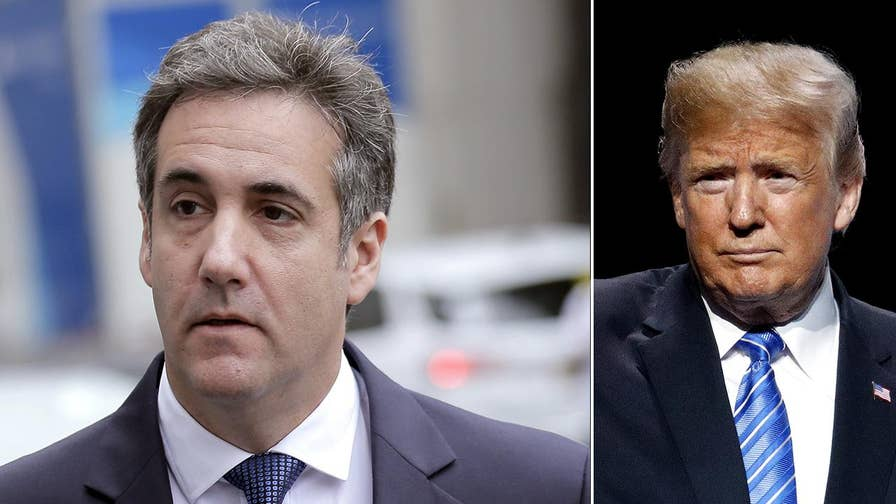 President Trump's personal lawyer says the meaning of the conversation between then-candidate Donald Trump and his then-attorney Michael Cohen is 'crystal clear.'