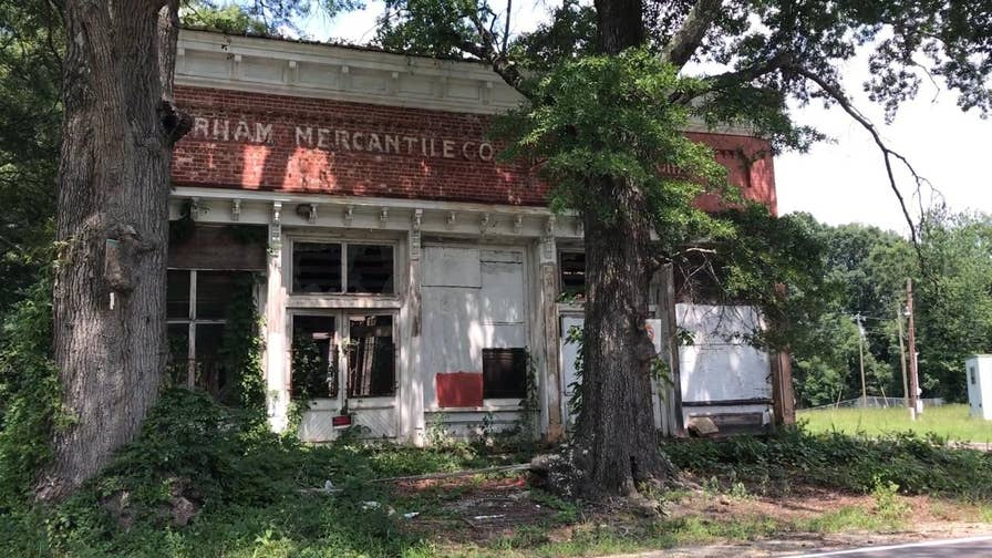Ghost towns across the West have been resurrected after being deserted for decades, but preservationists across the south say they are racing against time to rebuild their long lost cities