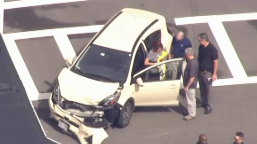 Raw video: Police and emergency crews investigate the scene where a vehicle struck multiple people.