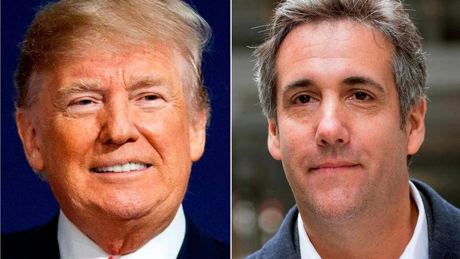 Then-candidate Trump and his attorney Michael Cohen discuss possible payment to former Playboy model in leaked audio recording; reaction and analysis on 'The Five.'