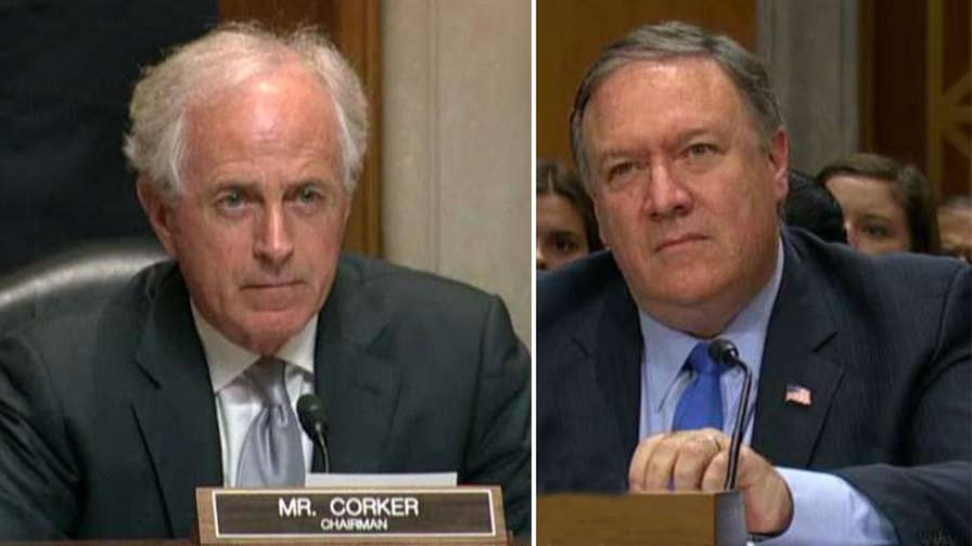 Secretary of State Pompeo defends the Trump administration after Senator Corker questions the motivations behind the president's public statements.