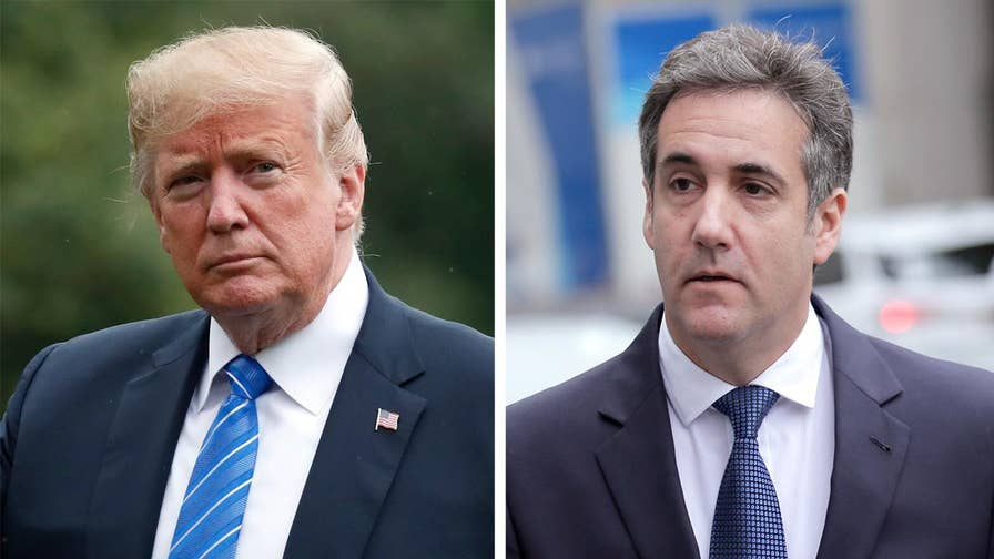 Then-candidate Trump and lawyer discuss payment to former model on secretly recorded audio; Kevin Corke reports from the White House.