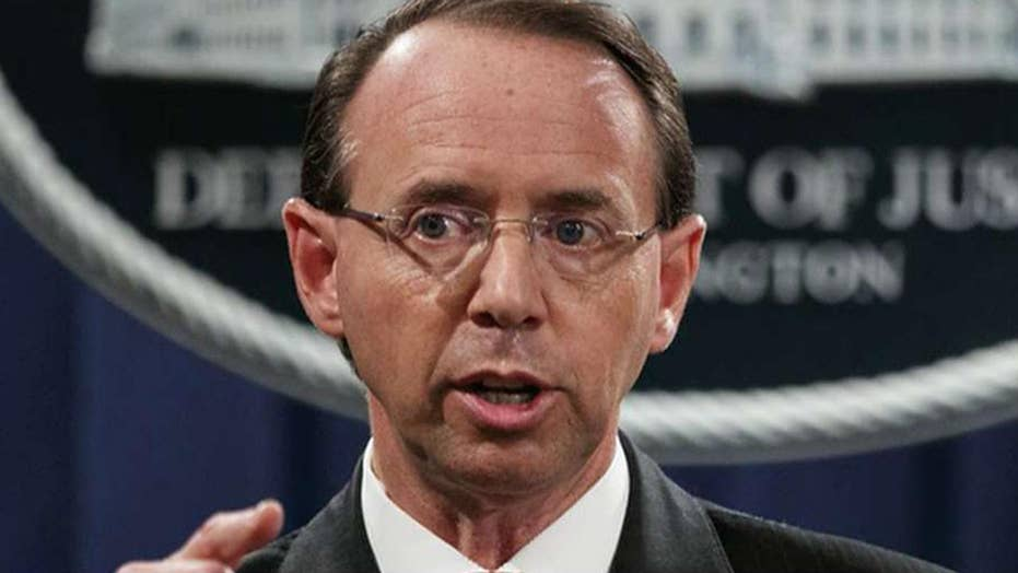 Congress may hold Rosenstein in contempt