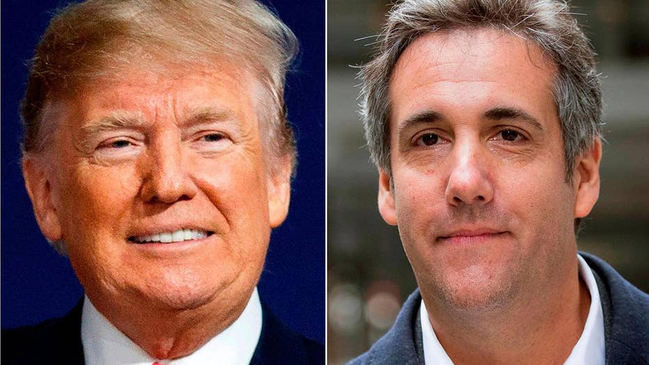 Lawyers for Trump and Cohen dispute content of secret tape