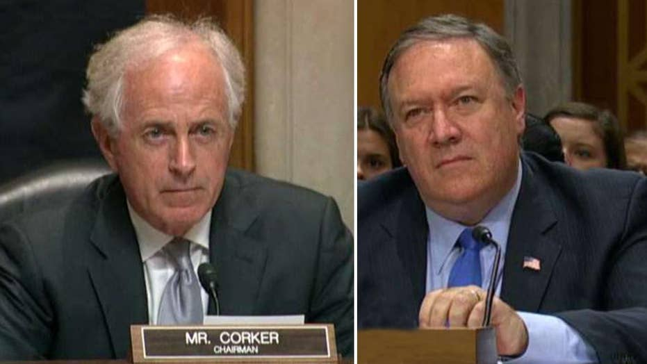 Corker to Pompeo: Why does Trump purposely create distrust?