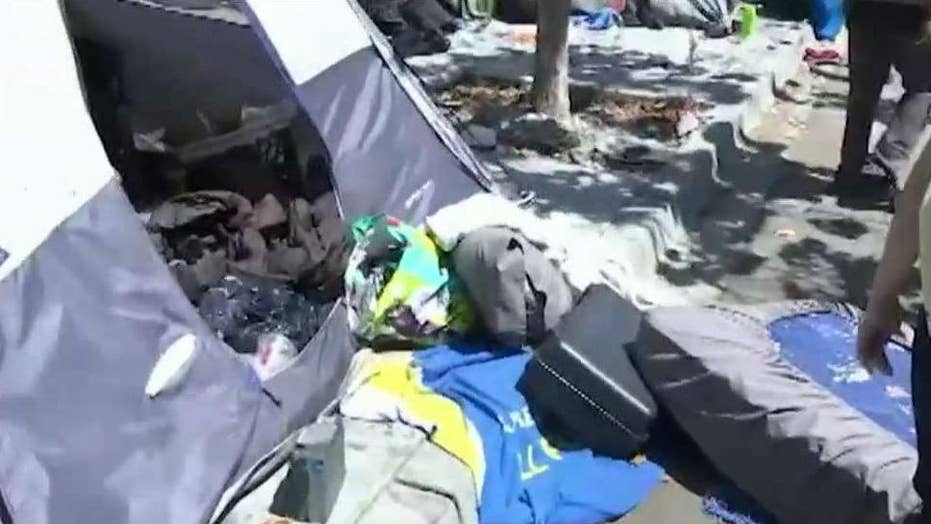 San Francisco struggles with growing homelessness problem