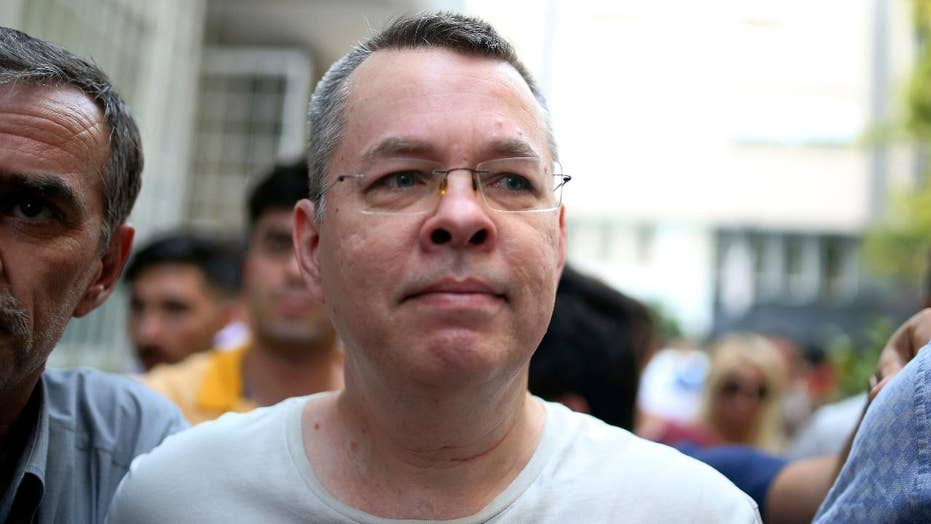 American pastor released from Turkish jail
