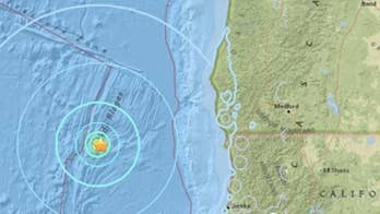 """A string of underwater earthquakes off the coast of California sparks fears that a large magnitude earthquake on the offshore fault could trigger a 9.0 magnitude earthquake, known as """"The Big One"""" and an accompanying tsunami."""