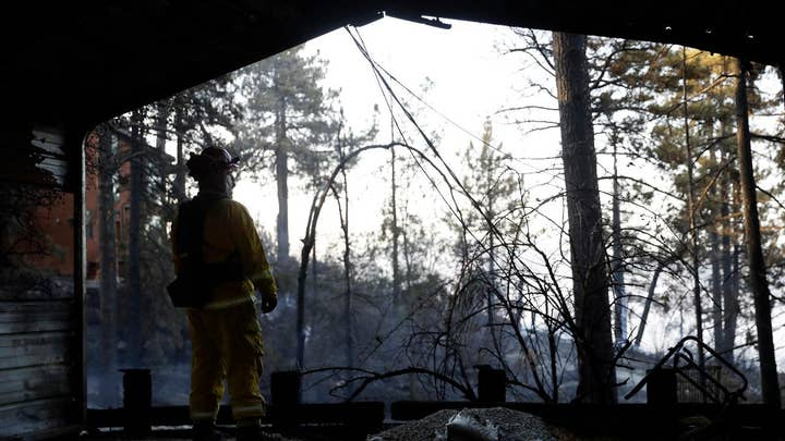 Heatwave fuels massive fires in California