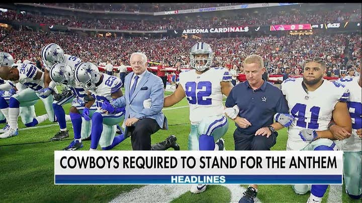 Jerry Jones: Dallas Cowboys Players Must Stand for the Anthem