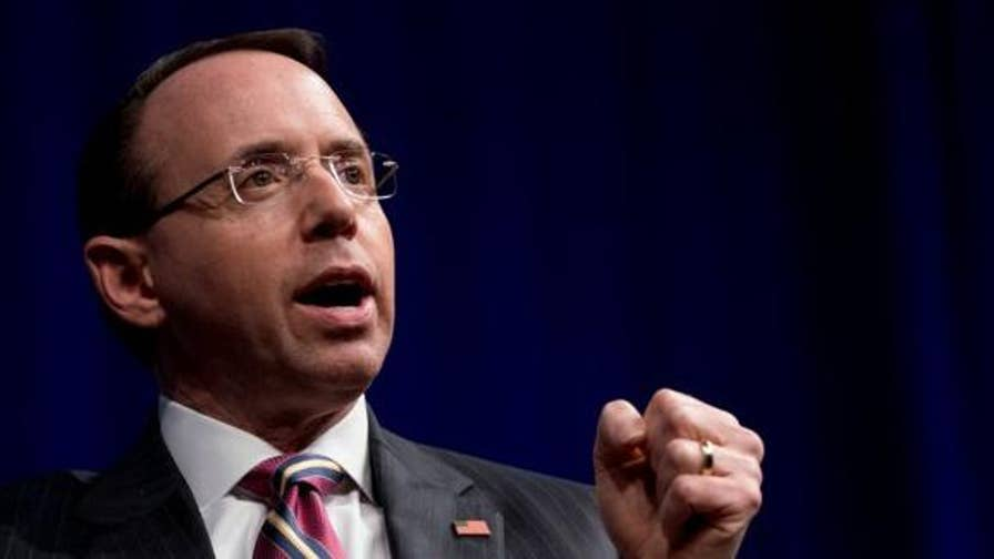 Impeachment resolution against Deputy Attorney General Rod Rosenstein will not happen before the House adjourn for its annual late summer recess; chief intelligence correspondent Catherine Herridge reports from Washington.