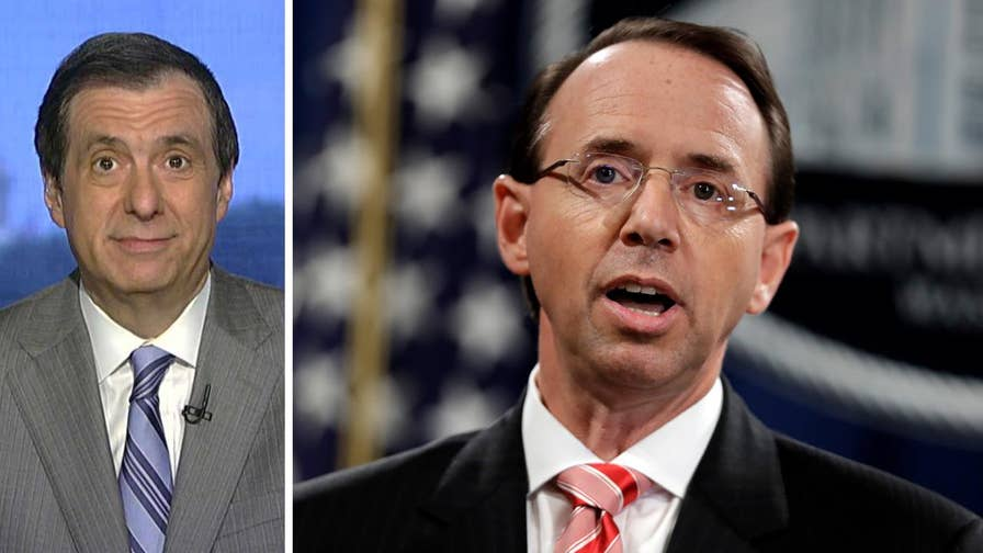 'MediaBuzz' host Howard Kurtz weighs in on the seemingly pointless Beltway theater behind the resolution to impeach Rod Rosenstein, and a lawsuit involving the Trump hotel a few blocks down from the White House.