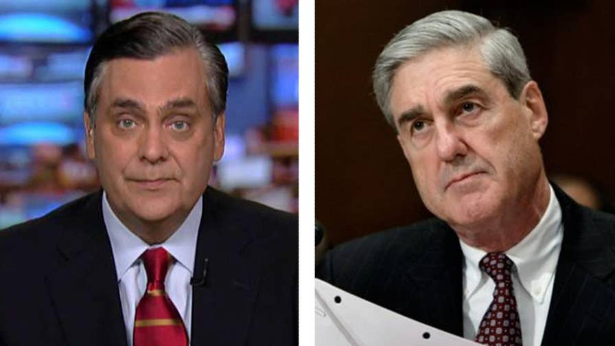 Special counsel Robert Mueller is reportedly examining Trump's tweets about Sessions and Comey; constitutional law attorney Jonathan Turley weighs in on 'The Story.'