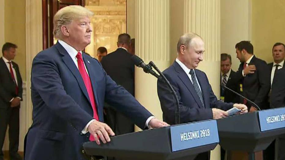 Lawmakers take aim at Trump's private meeting with Putin