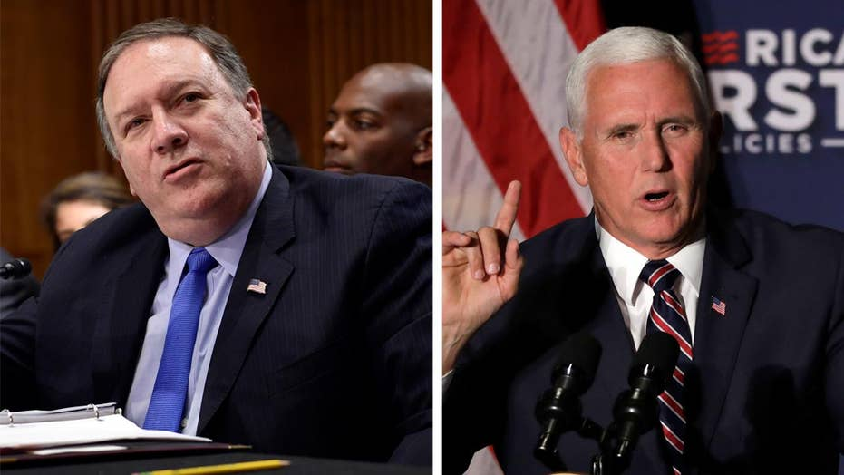 Pence, Pompeo to speak at State Department ministerial