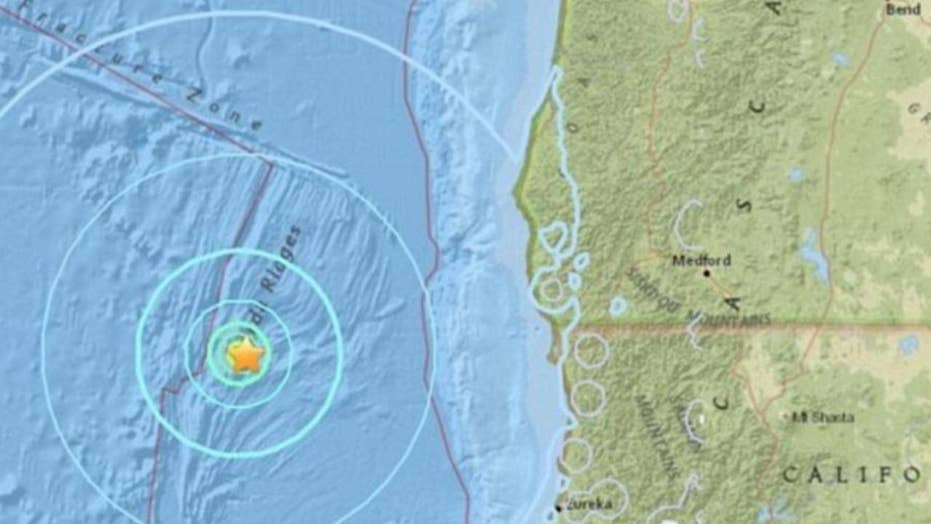 Earthquakes hit close to big fissure off California coast, sparks fears of 'The Big One'
