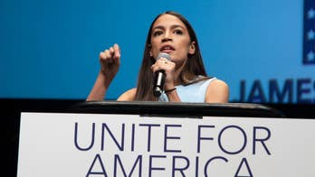 New York Congressional candidate Alexandria Ocasio-Cortez appeared on 'The Daily Show' with Trevor Noah and stood by her polarizing label of 'democratic socialist.'