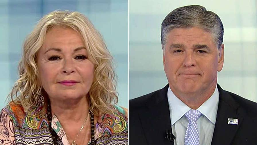 Roseanne Barr sits down for an interview on 'Hannity' after being fired from the 'Roseanne' reboot.