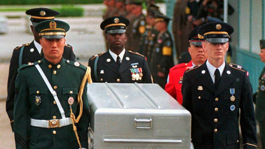United States expects the return of missing American service members killed in the Korean War; Greg Palkot reports.