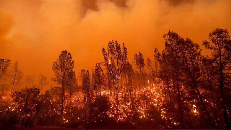Devastating video released of the Carr fire, which has ripped through northern California, including Redding, Shasta and Keswick.