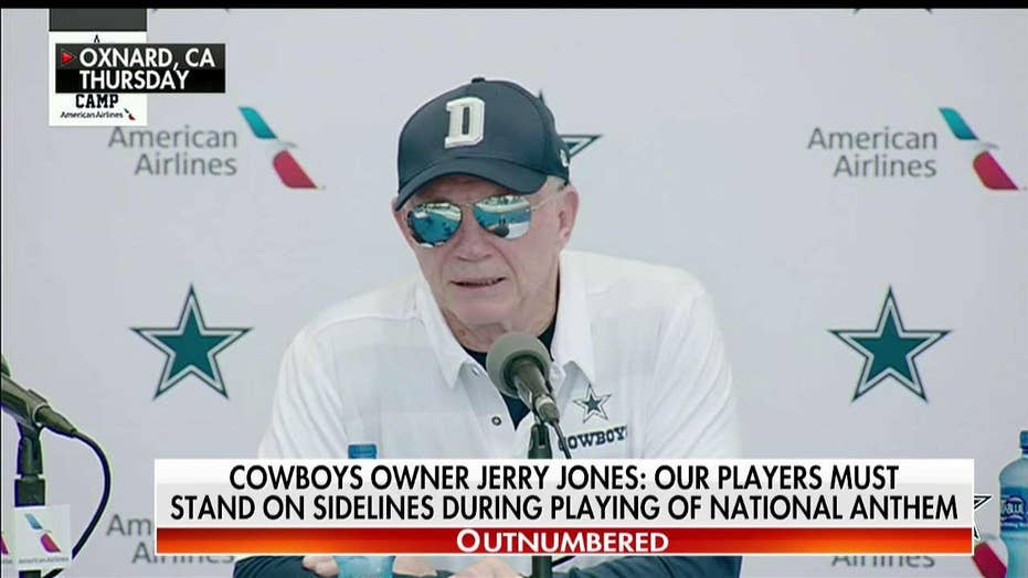 Trump Applauds Cowboys Owner Jerry Jones' Anthem Stance