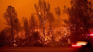 Wildfires force thousands of evacuations in northern California; Jeff Paul reports.
