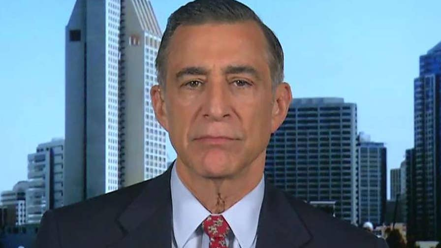 Reaction from Rep. Darrell Issa on why the press seem to prefer covering the Russia probe and Cohen tape rather than the strong GDP figure.