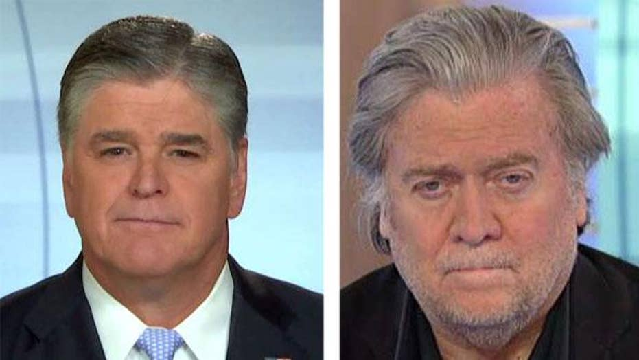 Bannon: 2018 midterm is a referendum on the Trump presidency
