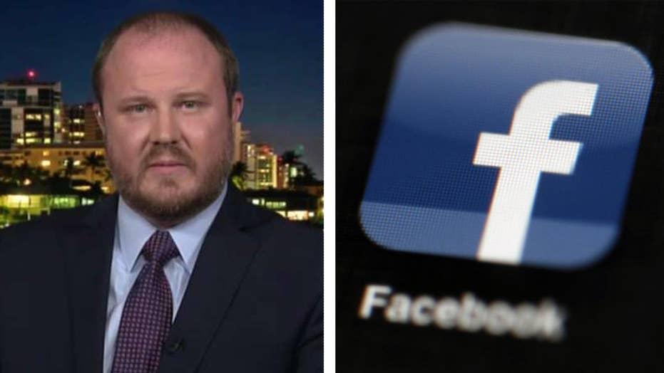 Facebook admits to blocking GOP candidate's pro-gun ad