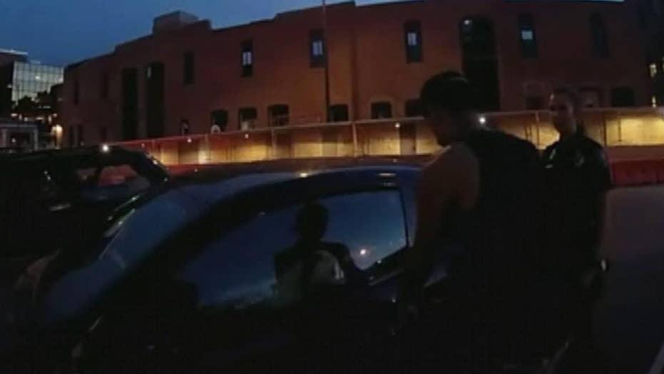 Body cam footage shows alleged assault of Boulder officer