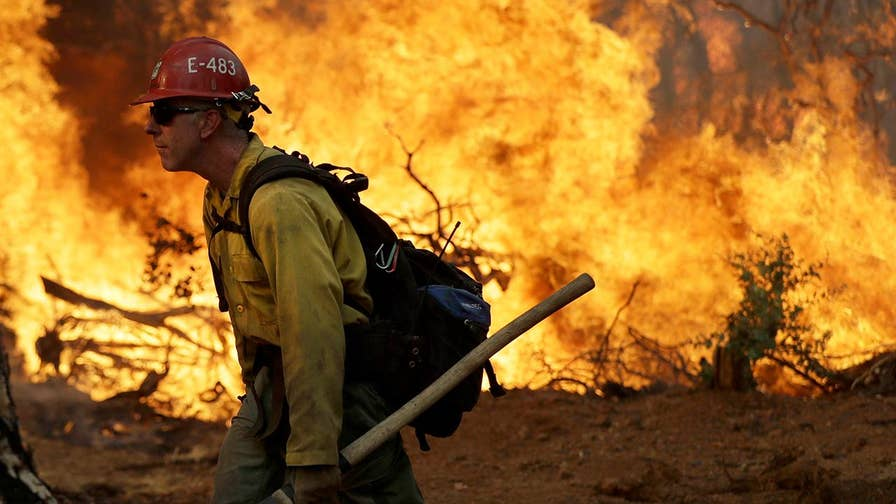 Deadly wildfires have killed five people in California.