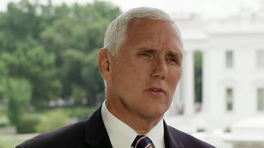 Vice President Mike Pence discusses the Trump Administration's economic policies on 'Sunday Morning Futures.'