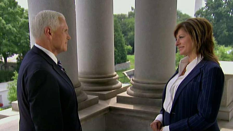 Vice President Mike Pence discusses 2018 midterm priorities on 'Sunday Morning Futures.