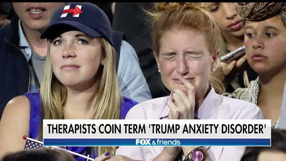 Report: US Therapists See Increase in Patients With 'Trump Anxiety Disorder'