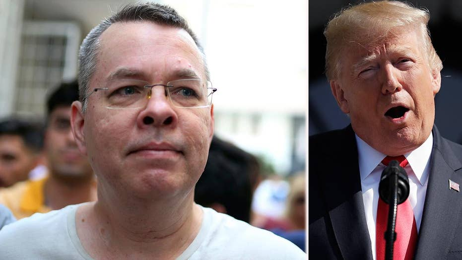 Trump theatens sanctions on Turkey if pastor not released
